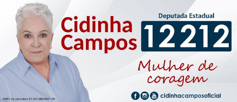 Candidata a Deputada Estadual pelo Rio de Janeiro